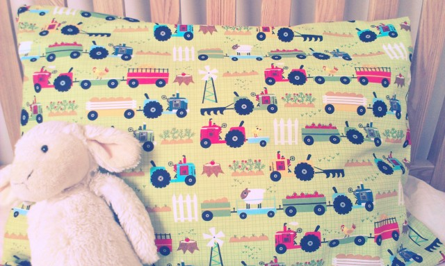 Toddler Pillowcase Tutorial