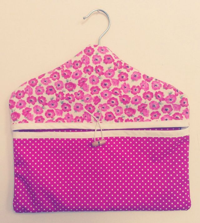 How to Make a Peg Bag / Clothes Pin Bag