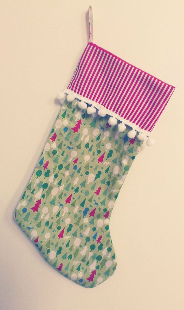 Homemade Christmas Stocking Kellita Makes