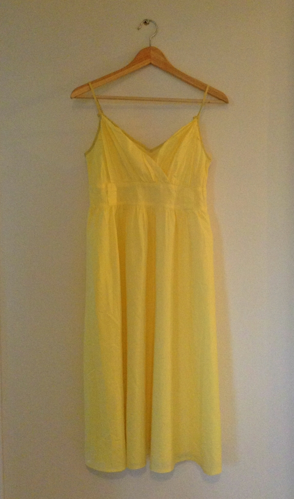 Yellow Sun Dress Remake