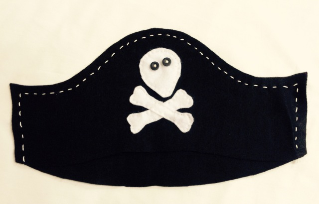 Homemade Pirate Hat