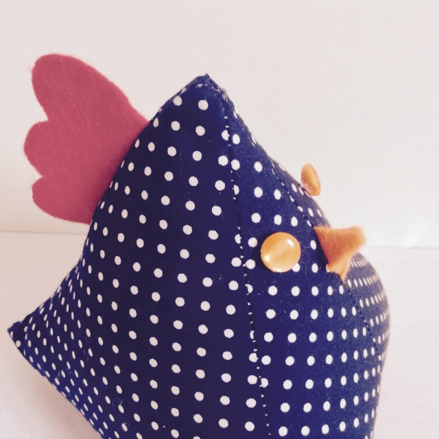 Chicken Doorstop Handmade
